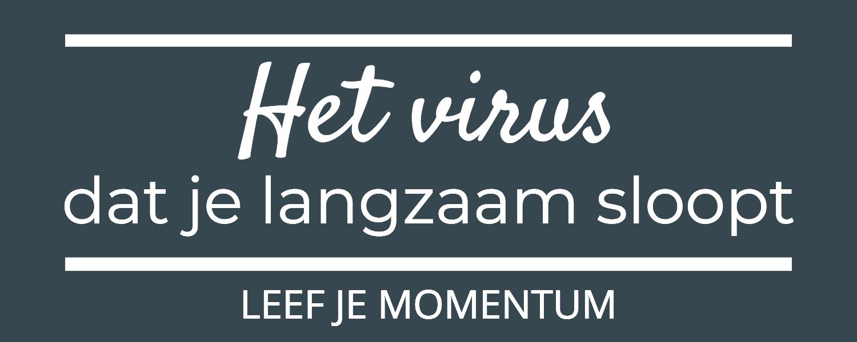 Het Virus Dat Je Langzaam Sloopt